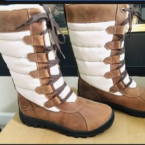 TIMBERLAND MT. HAYES TALL WATERPROOF BOOTS Size7